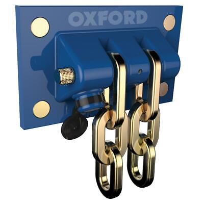 Oxford Docking Station Thatcham OF437 Ultimate Motorcycle Wall Ground Anchor