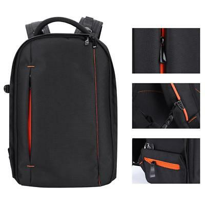 K&F Concept Large Backpack Shoulder Bag Carrying Case with Cleaning Kit for DSLR