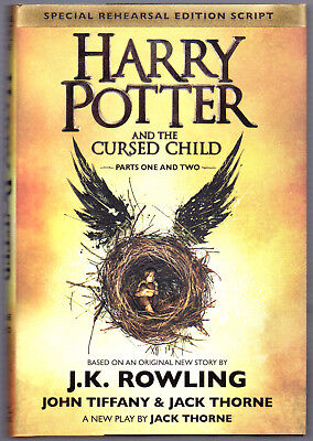 Harry Potter and the Cursed Child Parts One & Two NEW Special Rehearsal Edition