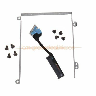 for DELL Precision M3800 XPS15 9530 Hard Drive HDD Backet Caddy & Cable & Screws