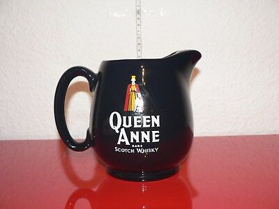 Queen Anne Scotch Whisky Jug Whiskey  Wasserkrug Krug Eiswasserkrug