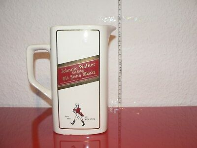 Johnnie Walker Scotch Whisky Wasserkrug Jug Pitcher Pub Jug Eiswasserkrug