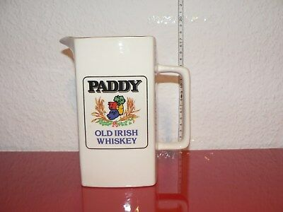 Paddy Irish Whiskey Jug Whisky  Wasserkrug Krug Eiswasserkrug Whisky Man Cave