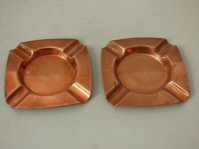 Old Breweriana Copper Smoking Tobacciana Ashtray Buy 1 Get 1 Free Uk P+P