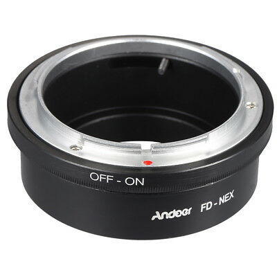 Andoer FD-NEX Adapter Ring Lens Mount for Canon FD Lens to Fit for Sony NEX E4L4