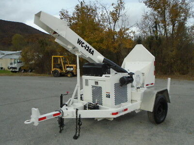 2008 Altec Wc-126A Wood Chipper Forestry Arborist