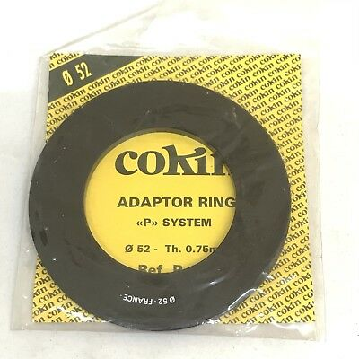 52mm Cokin P series filter ring adapter holder Genuine OEM France FREE SHIPPING