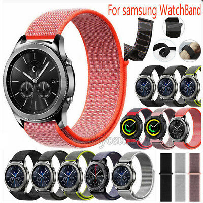 Nylongewebte Band Nylon Sport Loop Armband Für Samsung Watch 42/46mm/S3 Classic