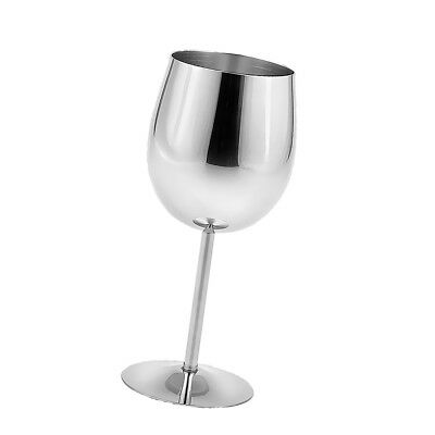 Metal Wine Champagne Drinks Cups Glasses Goblets for Home Bar Party Use