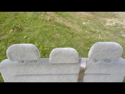 2000 00 Honda Odyssey Third Row Back Seat Headrests Cloth Gray Van 42173