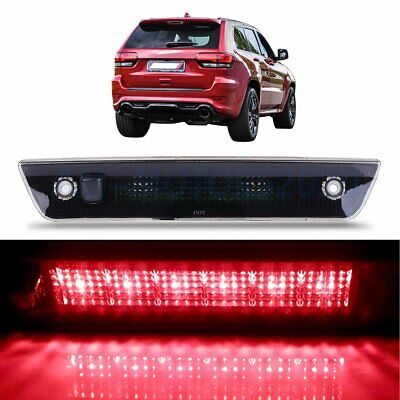 Smoke Housing LED 3RD Third Brake Tail Light for 2005-2010 Jeep Grand Cherokee
