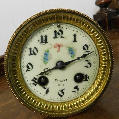 pretty dial french striking clock movement for restore
