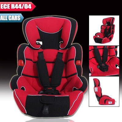 Dark Red Forward Facing Baby Children Kid Infant Car Seat Booster For 9 To 36kg