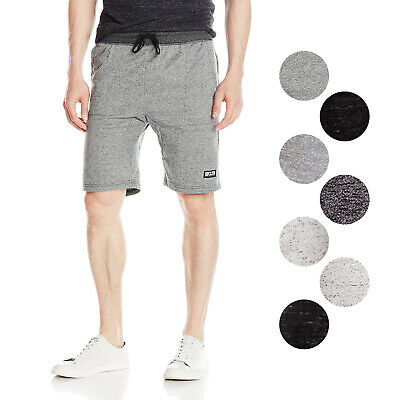 Brooklyn Athletics Men's Casual Lounge Knit French Terry Jogger Shorts S-XXL