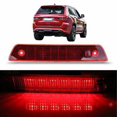 Red Housing LED 3RD Third Brake Tail Light for 2005-2010 Jeep Grand Cherokee