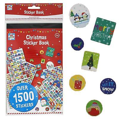 1500 Fun Christmas Xmas Stickers for Kids Craft, Card-making & Fun Decoration