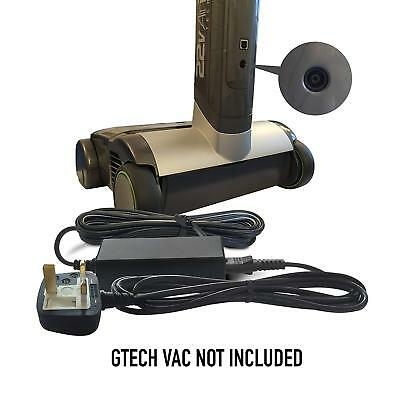 Gtech 22V - 27V DC Battery Charger Mains Adapter Adaptor Power Supply Cord Plug