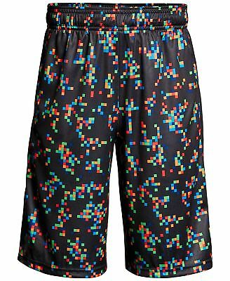 New Under Armour Boys Stunt Printed Shorts MSRP $30.00 Youth Large w/ pockets