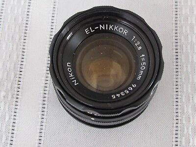 Nikon EL-NIKKOR 50mm f2.8 Enlarging Lens 965345 for Darkroom