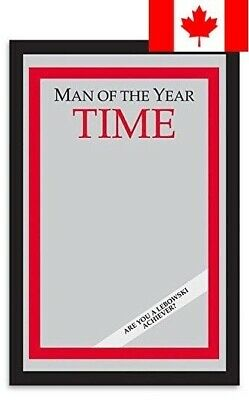 "Man of the Year Time Magazine Mirror from The Big Lebowski (9""x13"")"