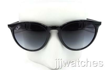 b07cd793de New Ray Ban Erika Polished Black Gray Gradient Sunglasses RB4274 601 8G 53- 18