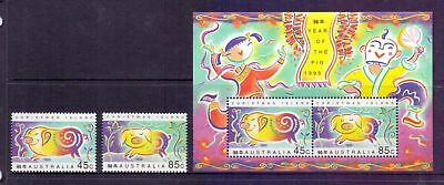 Christmas Island  1995  Lunar New Year, MNH.