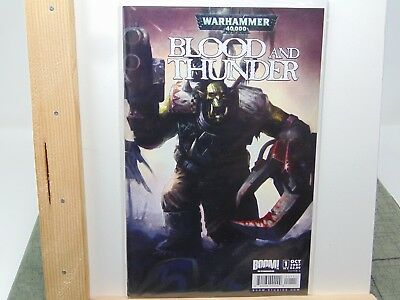 Blood and Thunder #2 Cover A Warhammer Fantasy 40k Boom Games Workshop CB6336