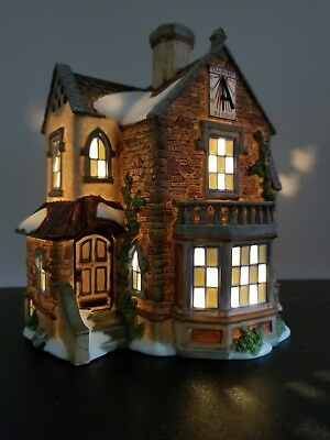Department 56 Dickens' Village- Lea Hurst House #808869 New Retired Limited ED