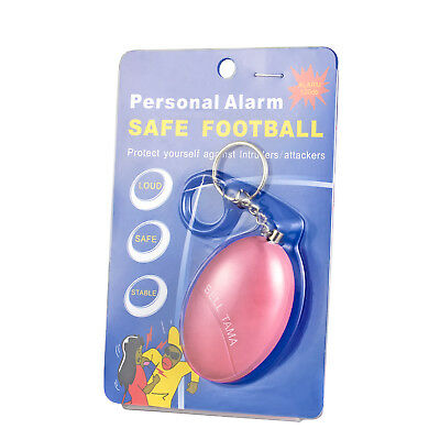 Personal Safe Alarm Anti-Attack Rape Security Self Defense Keychain 120dB