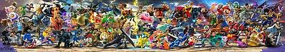 "Super Smash Bros Ultimate Poster Game FINAL Bannner Print 12x65"" 18x97"" 32x174"""