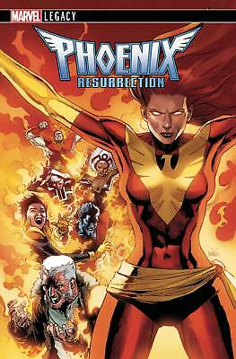 Phoenix Resurrection Return Jean Grey #1 (Of 5) 2Nd Ptg Var Marvel Comics
