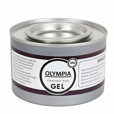Olympia CE241 Chafing Gel Fuel, 200 g Pack of 12