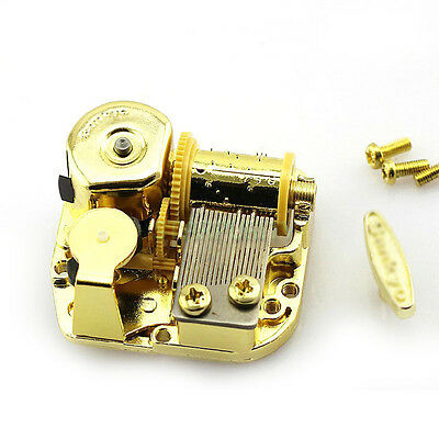 22 Songs for Choose! 18Note Windup DIY Gold Music Box Movement Elfen Lied Lilium