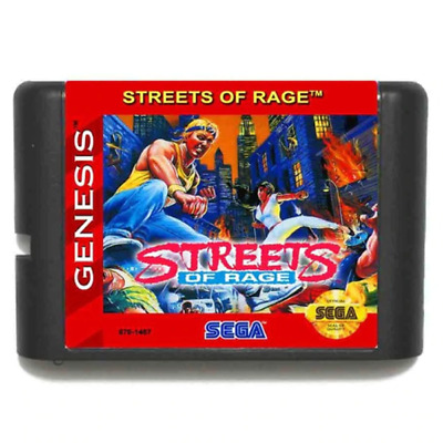 Street Of Rage 16 bit MD Game Card For Sega Genesis