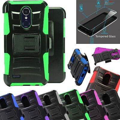 For Alcatel TCL LX 2018 +TEMPERED GLASS Case Phone Cover ADV Holster
