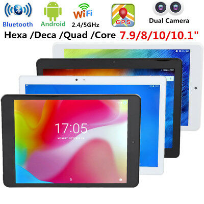 10.1Inch Android 8.0 Tablet PC Deca-core 4GB 64GB WiFi Dual Camera GPS Bluetooth