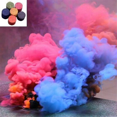 DIY Colorful Smoke Pills Cake Effect Show Round Stage Photography Prop Aid Toy