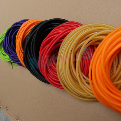 2mm x4mm Dia Surgical Tube Elastic Latex Rubber Band 1M L for Slingshot Catapult