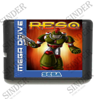 RESQ 16 bit MD Game Card For Sega Mega Drive For Genesis