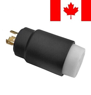 Conntek Generator to RV Adapter and L5-30P Locking Plug to RV 30-Amp Connector