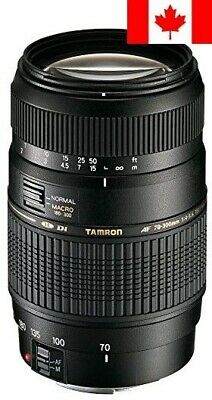 Tamron AF 70-300mm f/4.0-5.6 Di LD Macro Zoom Lens for Canon Digital SLR Came...