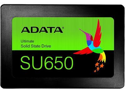 "ADATA Ultimate SU650 2.5"" 480GB SATA III 3D NAND Internal Solid State Drive (SSD"