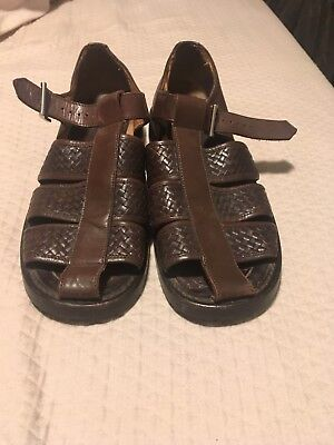 a05db8ac16c Salvatore Ferragamo Men s Groove Gancini Red PVC Leather Pool Slides sz  US  10.