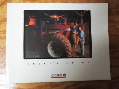 Vintage Case IH 1996 Agriculture Equipment Buyer's Guide AE 166076