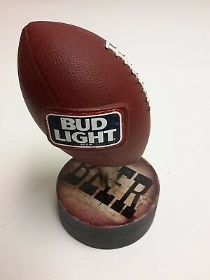 Bud Light Football Tap Handle with New Display Base SN702-Bud Light