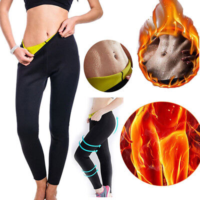 Women Hot Sweat Sauna Shaper Slimming Pants Thermo Neoprene Gym Weight Loss