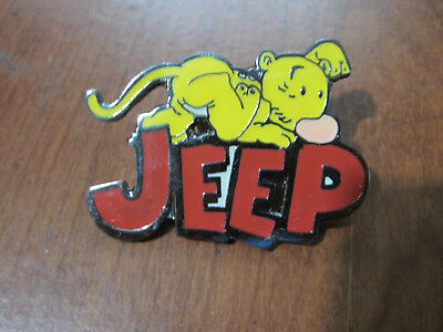 POPEYE pal  EUGENE the JEEP name  lapel pin