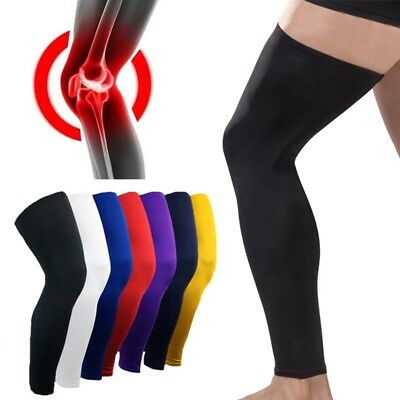 US Sports Thigh High Compression Sleeve Brace Calf Leg Support Knee Stockings