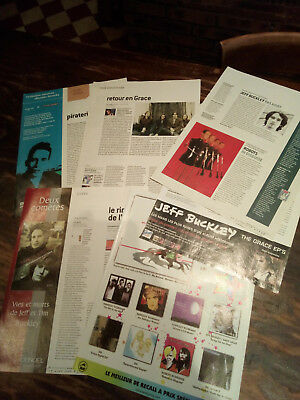 Jeff Buckley-  Articles Clipping Press-Advertisements-Publicitees French Article