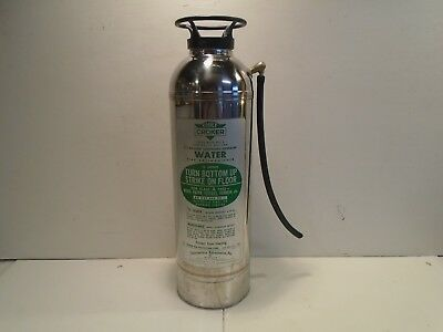 Vintage Chief Croker Water Can Fire Extinguisher 2-1/2 gal Class A